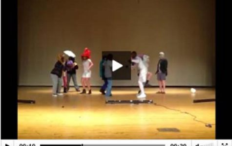 Intro to theatre class performs Harlem Shake