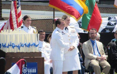Stallion alumnus graduates from U.S. Coast Guard Academy