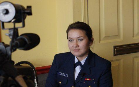 Former Stallion speaks about U.S. Coast Guard Academy