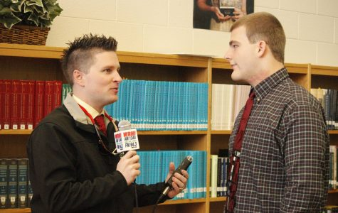 Brandon Fisher talks with Chris Miller from WRHI about playing college football.