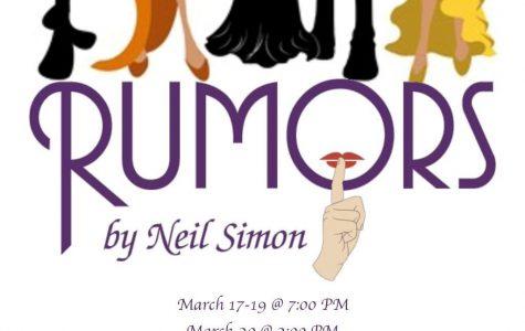 "Spread the word! ""Rumors"" opens this weekend"