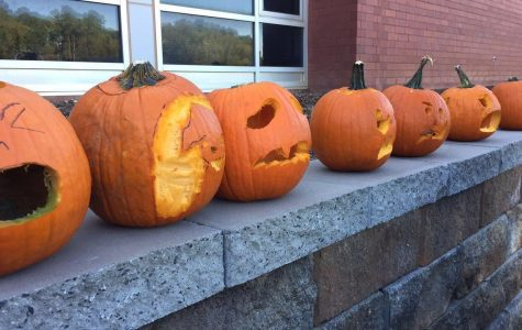 Stallions incorporate pumpkins into the classroom