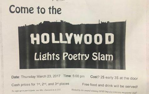 Impulse Staff Hosts Their Annual Poetry Slam