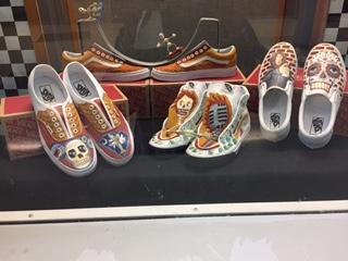 Art Class Hopes to Win Vans Custom Art Competition