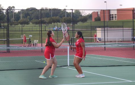 Photo Gallery: Girls Tennis Defeats Region Opponent