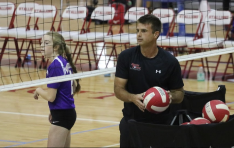 New Volleyball Coach Sets the Bar High