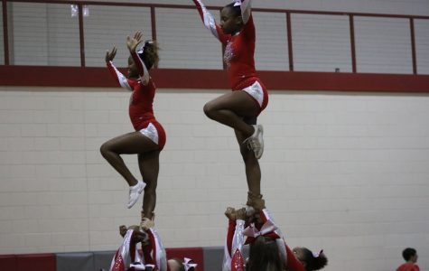 South Pointe Cheer Team Competes at State Once Again
