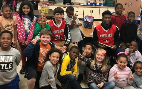 Stallions Read to Children at Belleview