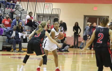 Photo Gallery: Women's Varsity Basketball Wins a Close Game Against Nation Ford