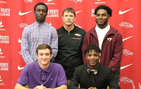 Photo Gallery: Four Players Sign to Play Football in College