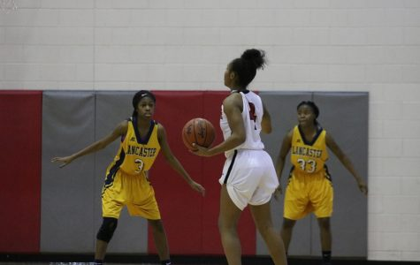Photo Gallery: Women's Varsity Basketball Gains a Win over Lancaster