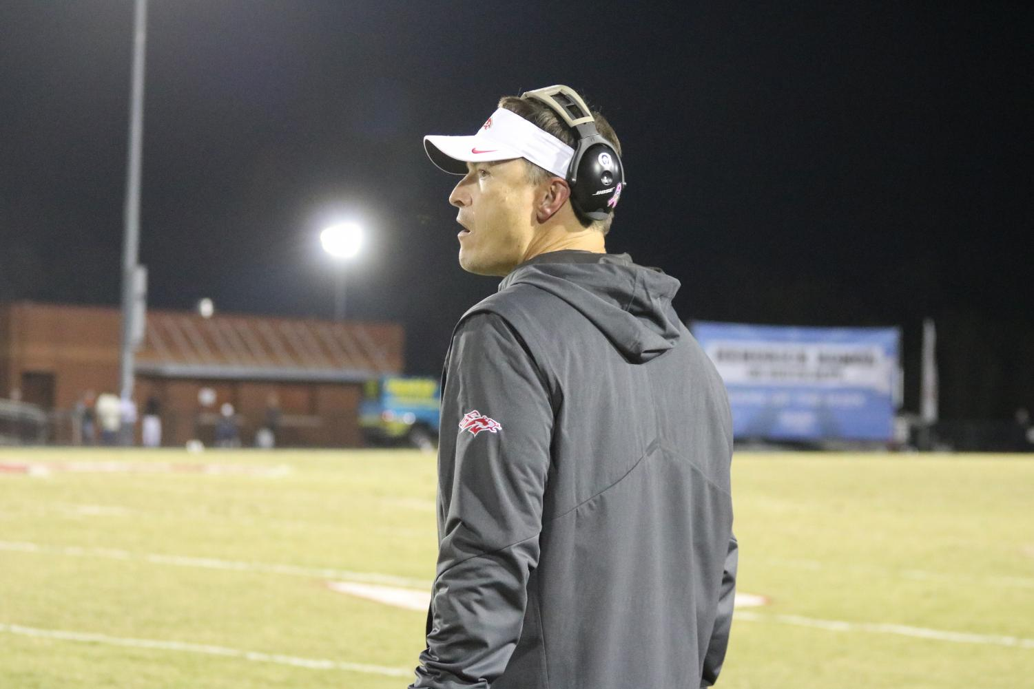 Head Football Coach Strait Herron Wins National Coach of the Year
