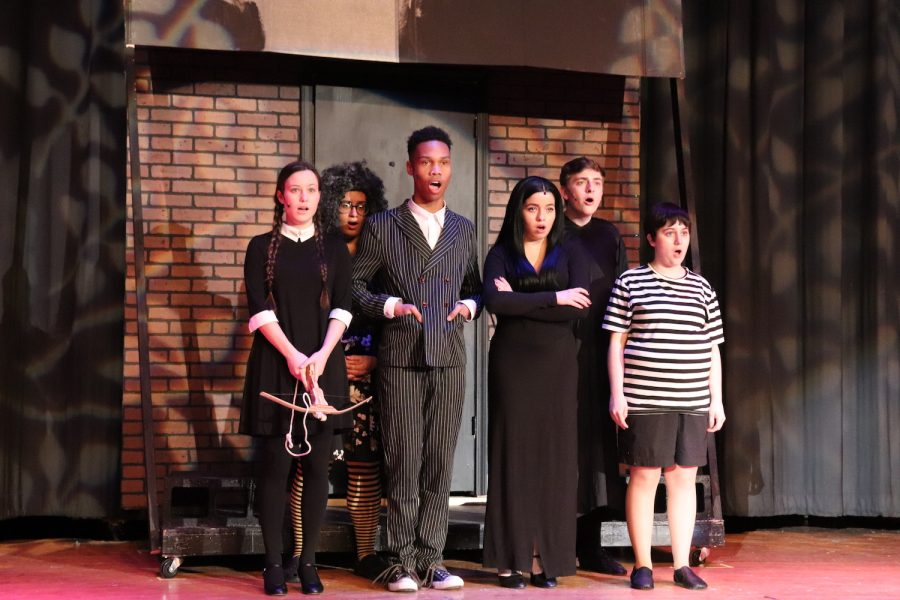 The+musical+opens+with+the++Addams+family+harmonizing.+