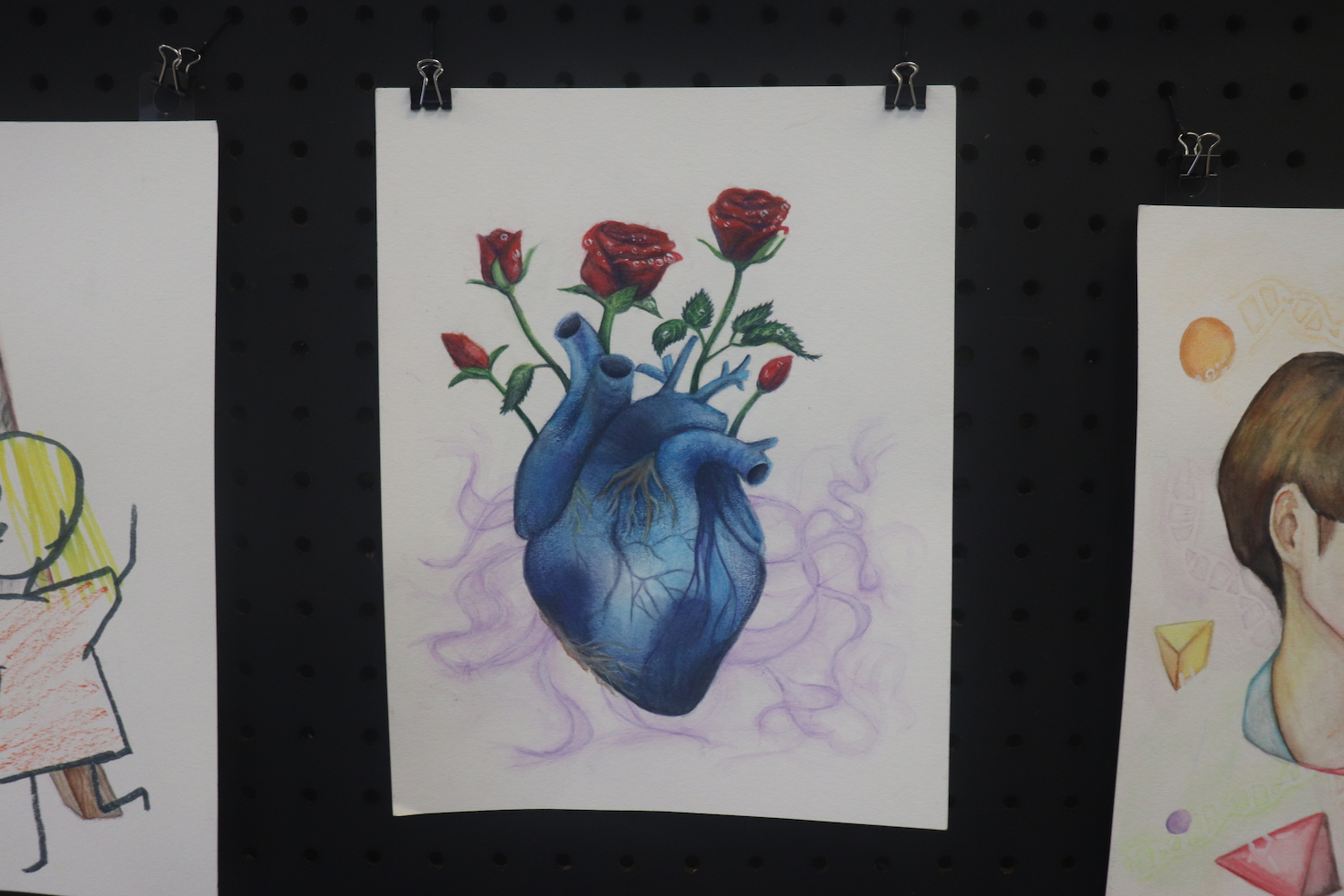 AP Students Show Off Art Talent and Skill