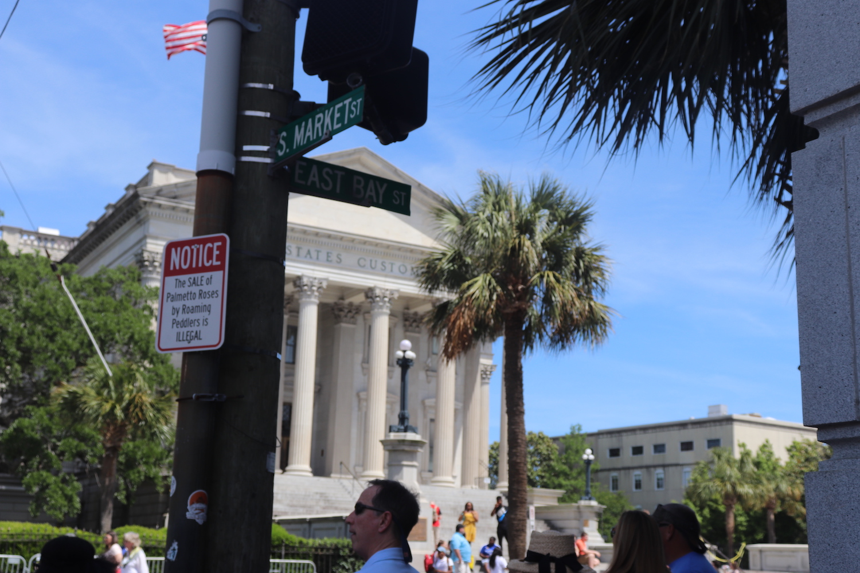 English Classes Visit Charleston