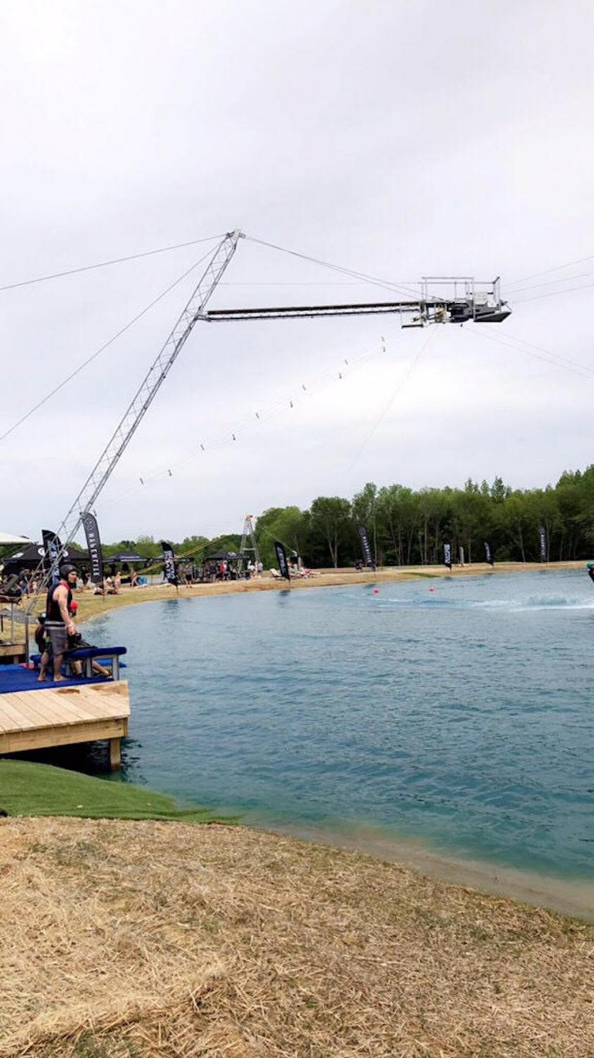 The South Town Wake Park  has become very popular to the community in the small time it has been open.
