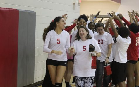 Varsity Volleyball Team Holds Annual Teacher Night