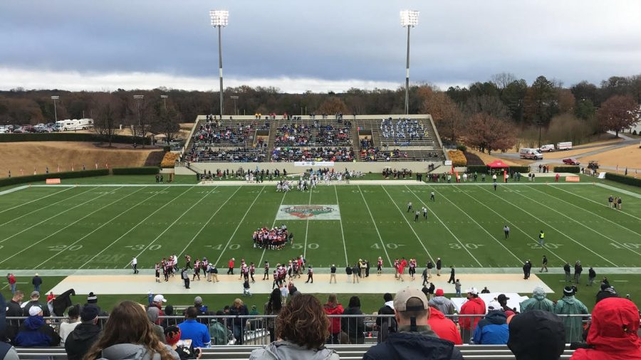Two of South Pointes Players Compete in the Shrine Bowl of the Carolinas
