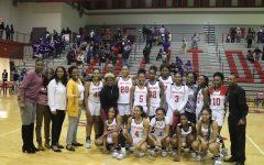 Girls' Basketball Team Demolishes Ridgeview in Round 3 Playoff Game