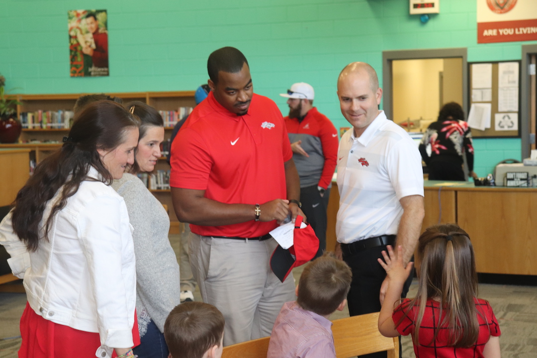 South Pointe Welcomes a Familiar Face Back to the Football Team