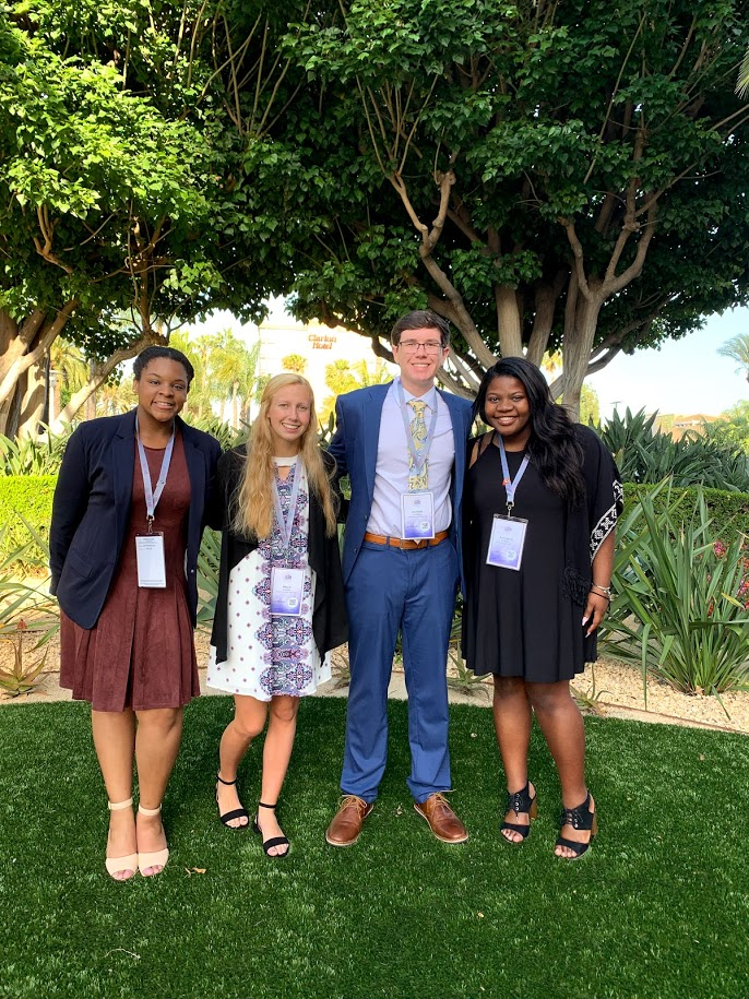 South Pointe's BPA Travels to California for National Competition